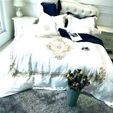White And Gold Bed Set Black White And Gold Bedding Teal And Red ...