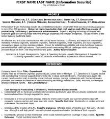 It Infrastructure Manager Resume Donald W Baxter Resume Project