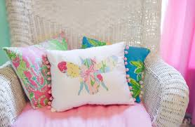 lilly pulitzer pillows