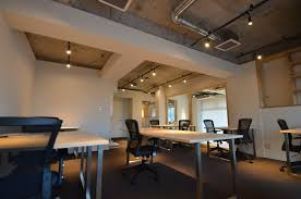 open beam ceiling lighting. Open Ceiling Lighting With Luxury Design Light, Minimalist Office Space Located In Yokohama Japan Beam E