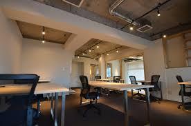 open ceiling lighting. Open Ceiling Lighting With Luxury Design Light, Minimalist Office Space Located In Yokohama Japan