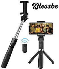 BLESSBE Selfie Stick With <b>Gimbal Tripod Bluetooth</b>: Amazon.in ...