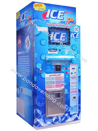 Ice Vending Machines Classy China SemiAutomatic Ice Vending Machines BC Series China Ice