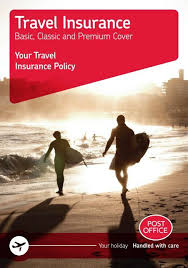 your travel insurance policy post office