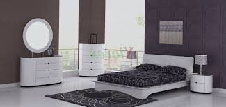 white lacquered furniture. white bedroom furniture sets for adults lacquered wood end table silver metal chrome bed frame fabric windows curtain beige no