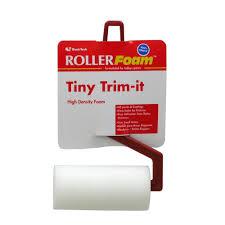 3 in ultra dense foam trim roller