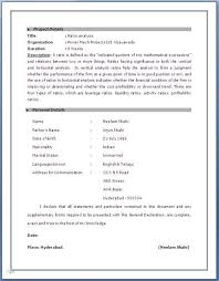Awesome Sap Abap Resume 2 Years Experience Photos - Simple resume .
