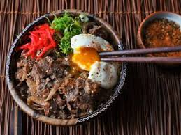 gyudon beef and rice bowl is an s most foolproof dish