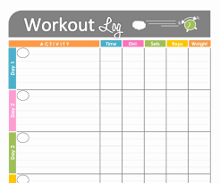 Monthly Workout Schedule Template Monthly Exercise Calendar Printable Best 25 Workout Calendar
