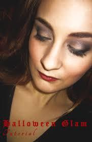 fall beauty halloween glam makeup tutorial
