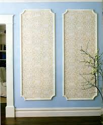 framed wallpaper decorative wall molding