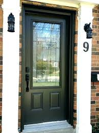 doors with glass stained wood front door stained wood front door wood front doors with glass