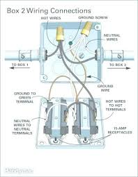 wiring a double outlet wiring diagram show