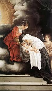 Donna di Carità. Santa Francesca Romana in un'opera di Orazio Gentileschi •  Clarus