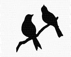 bird branch silhouette clip art.  Silhouette Image 0 To Bird Branch Silhouette Clip Art I