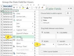 3 Ways To Group Times In Excel Excel Campus