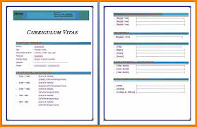 cv templates word 2010 20 cv format in ms word 2007 free download waa mood