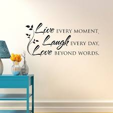 live laugh love wall decal e inspirational vinyl wall decal live laugh love decor