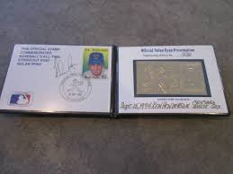 Nolan Ryan 24 karat gold stamp... | Furniture, Sports Memorabilia,  Collector, Outdoors, Household, More! | K-BID