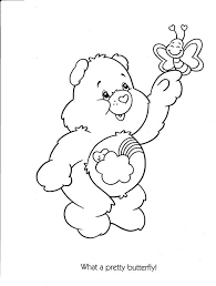 Small Picture Coloring Pages Tenderheart Care Bear Coloring Pages Pictures Of