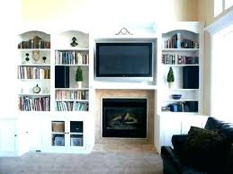 built in shelf fireplace with shelves on each side shelving ideas mantel firepl