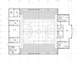 the floor plan of the new gym brings functionality and practicality to a cus in need