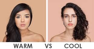 warm skintone vs cool skintone jpg