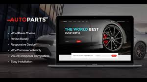 auto parts website template car parts store auto services themeforest website templates