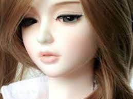 Cute Doll Girl Wallpaper - Mobile Fun
