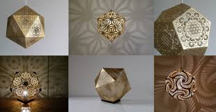 inspired lighting. [Image] | 25 Sacred Geometry Inspired Lights And Lanterns By Cozo - TIMEWHEEL Lighting