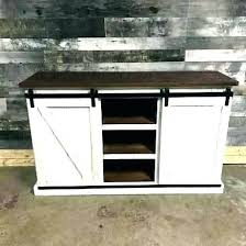 white distressed wood distressed wood stand distressed cabinet distressed white stand barn door distressed white stand