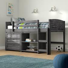 loft bed with shelves. Unique Loft To Loft Bed With Shelves B
