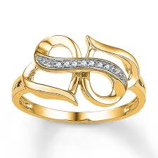 infinity ring gold. hover to zoom infinity ring gold o