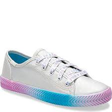 Amazon Com Keds Girls Kickstart Herringbone Sneaker