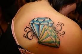 Diamond Tetování Recenze Význam A Jeho Fotografie