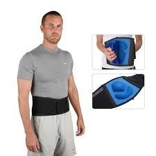 FormFit Lumbar Support Belt Male wearing belt