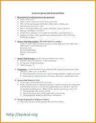 Athlete Sponsorship Proposal Letter Sample Fresh Sponsor