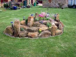 Small Picture Small Garden Rockery Ideas Home Exterior Interior Design Ideas