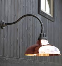 Copper Outdoor Light Fixtures Alluring Copper Exterior Lights Outdoor Light Color Garage