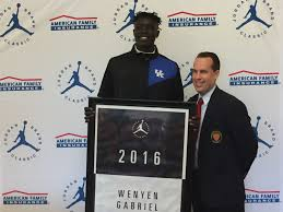 Wenyen Gabriel proud to represent home area at Jordan Brand Classic | USA  TODAY High School Sports