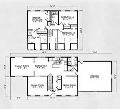 17012200 SQ 3 Bedroom House Plans2200 Sq Ft House Plans