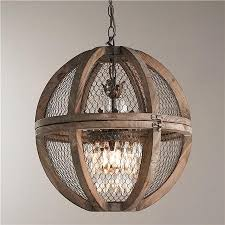 33 fashionable idea rustic orb chandelier incredible chandeliers and lights with 18 popular globe wood madeline
