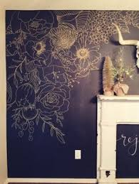 faux wallpaper gold paint marker mural on stone wall artist with the 352 best art mural images on pinterest murals decorative