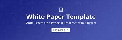 Free White Paper Template 8 Steps To The Perfect White Paper Template Included