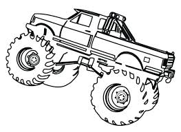Free Truck Coloring Pages Monster Trucks Coloring Sheets Monster