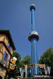 mäch tower s first riders experience the thrill of busch gardens newest attraction