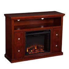 wildon home faulkner tv stand with electric fireplace for elegant electric fireplace tv stand on