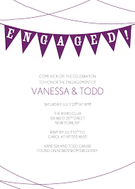 Engagement Party Invitation Template Cheap And Minimalist Engagement Party Invitations Template With 6