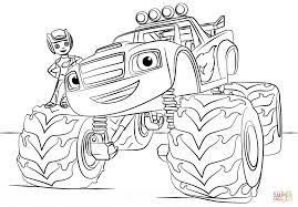 Small Picture Blaze Monster Truck coloring page Free Printable Coloring Pages