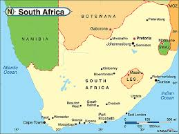 Travel South Africa Pictures Koen Coillie - Van Map